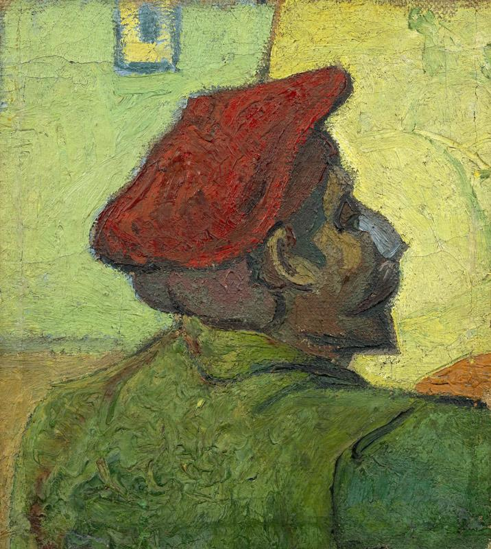 Paul Gauguin (Man in a Red Beret)