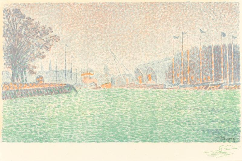 Paul Signac At Flushing (A Flessingue) 1895