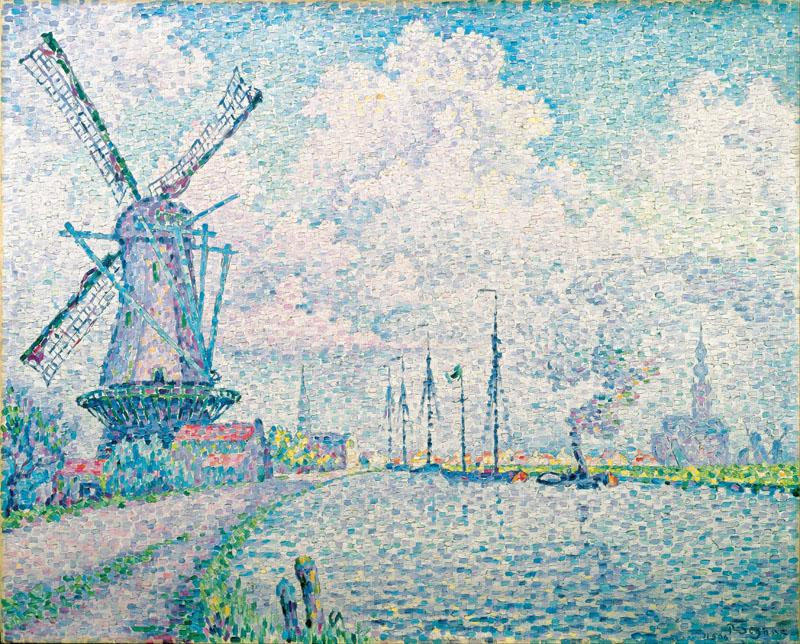 Paul Signac - Canal of Overschie