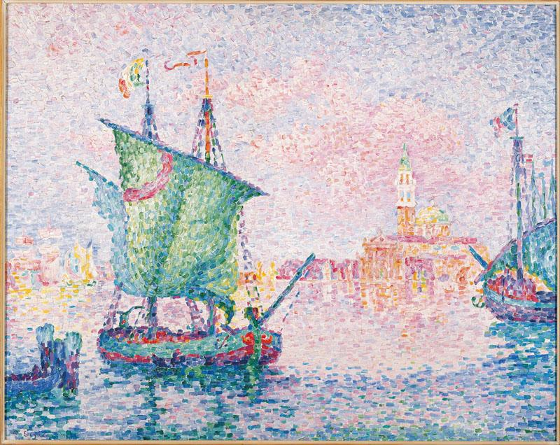 Paul Signac - Venice, The Pink Cloud, 1909