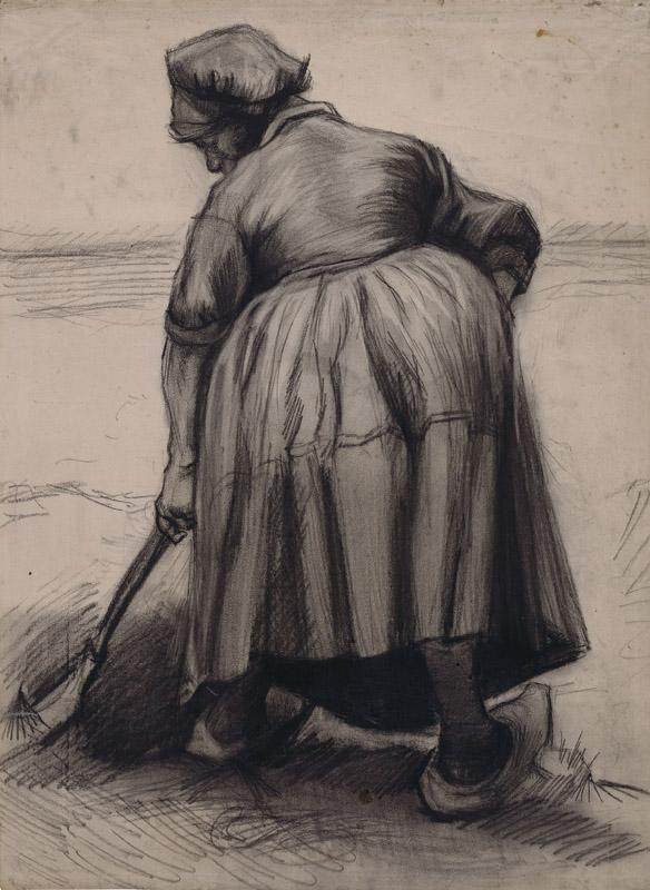 Peasant Woman Digging56
