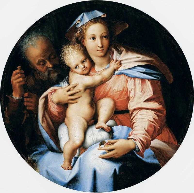 Perino del Vaga - The Holy Family, c