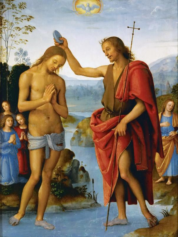 Perugino (c. 1450-1523) -- Baptism of Christ