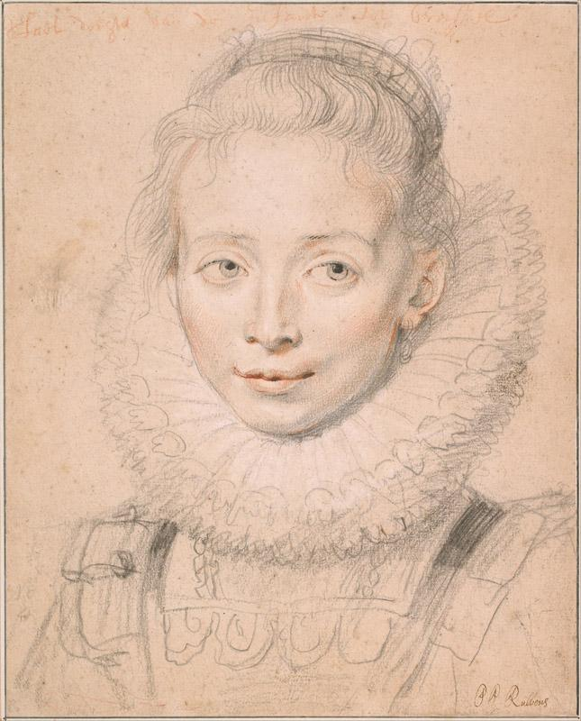 Peter Paul Rubens (1577-1640)-Rubens Daughter Clara Serena (So