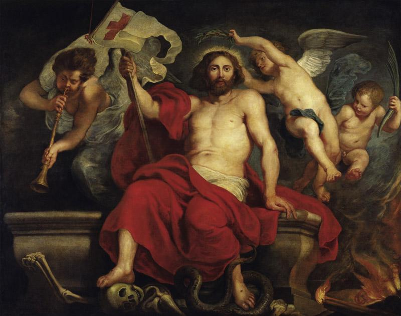 Peter Paul Rubens - Christ Triumphant over Sin and Death, 1615-1622
