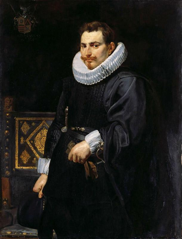 Peter Paul Rubens - Portrait of Jan Vermoelen, 1616