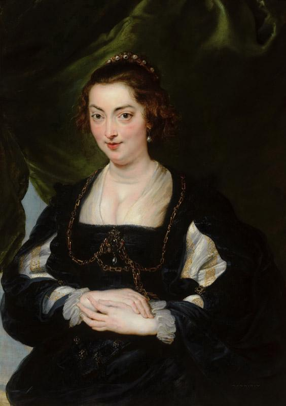 Peter Paul Rubens - Portrait of a Young Woman