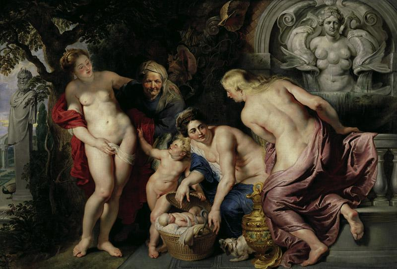 Peter Paul Rubens - The Discovery of the Infant Erichthonius, c. 1616
