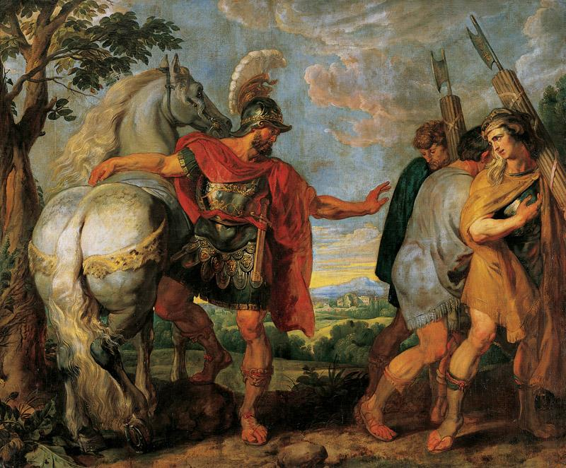 Peter Paul Rubens - The Dismissal of the Lictors, 1616-1617 d