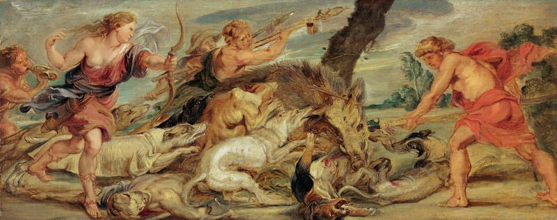 Peter Paul Rubens - The Hunt of Meleager and Atalanta, 1628