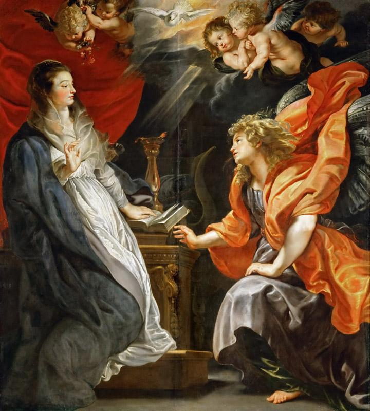 Peter Paul Rubens -- Annunciation