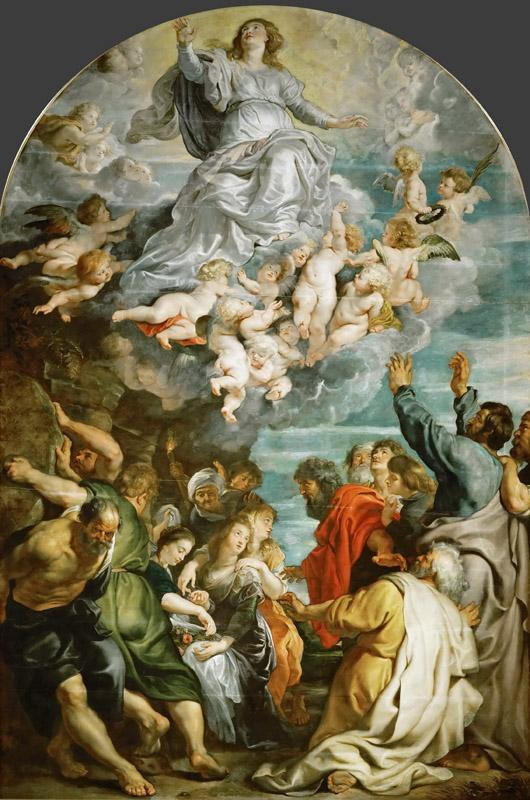 Peter Paul Rubens -- Assumption of Saint Mary