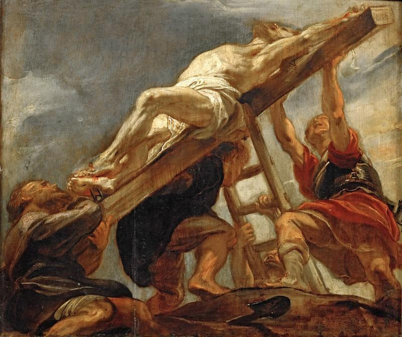 Peter Paul Rubens -- Elevation of the Cross