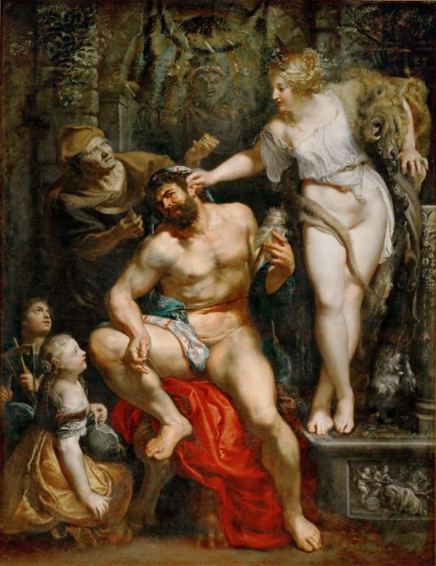 Peter Paul Rubens -- Hercules and Omphale