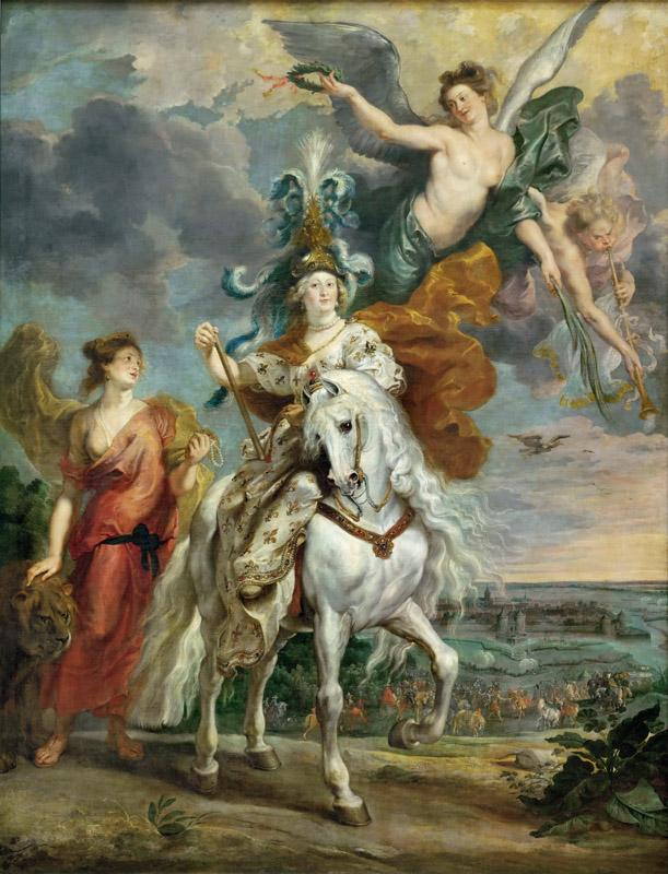 Peter Paul Rubens -- Medici Cycle- Triumph at Juliers, September 1, 1610