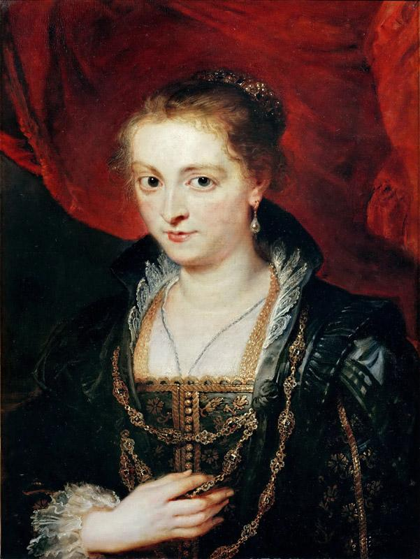 Peter Paul Rubens -- Suzanne Fourment