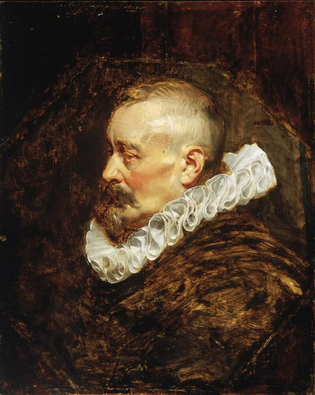 Peter Paul Rubens, Flemish (active Italy, Antwerp, and England), 1577-1640 -- Portrait of a Gentleman (possibly Burgomaster Nicholaes Rockox)