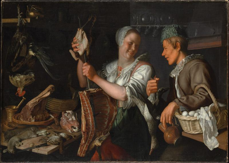 Peter Wtewael--Kitchen Scene