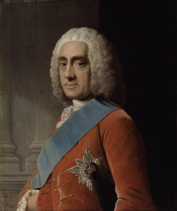 Philip Dormer Stanhope, 4th Earl of Chesterfield by Allan Ramsay