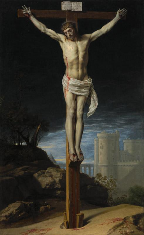 Philippe de Champaigne - Christ on the Cross, ca. 1655