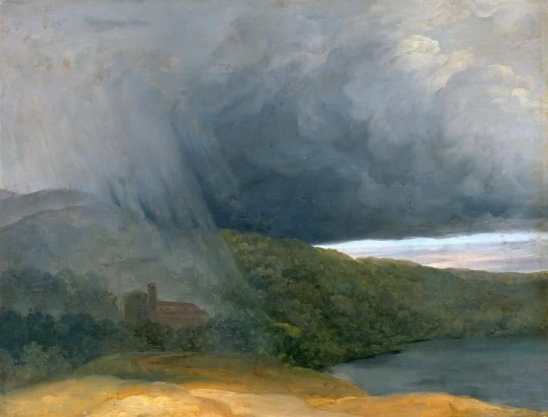 Pierre Henri de Valenciennes -- Thunderstorm over the Lakeshore