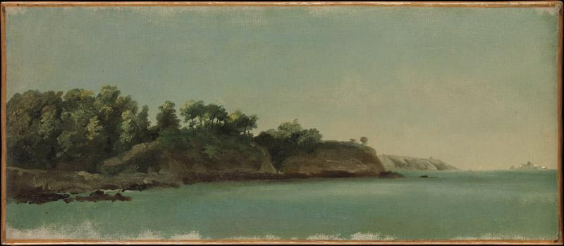 Pierre Henri de Valenciennes--The Banks of the Rance, Brittany