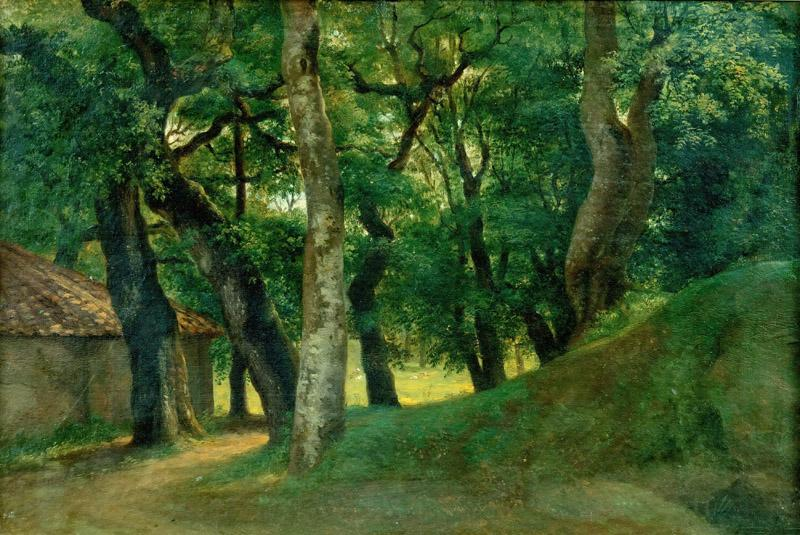 Pierre Henri de Valenciennes-Forest of the Villa Borghese