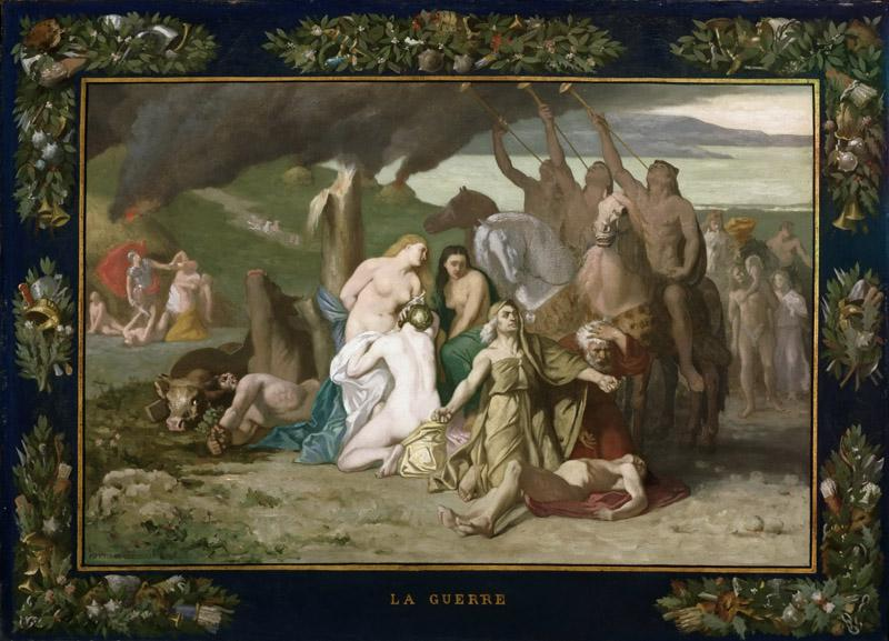 Pierre Puvis de Chavannes, French, 1824-1898 -- War