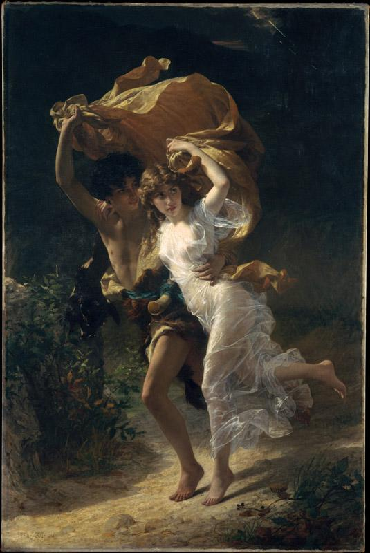 Pierre-Auguste Cot--The Storm