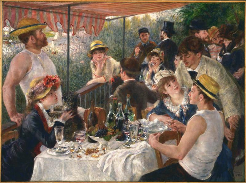 Pierre-Auguste Renoir (1841-1919)-Luncheon of the Boating Party