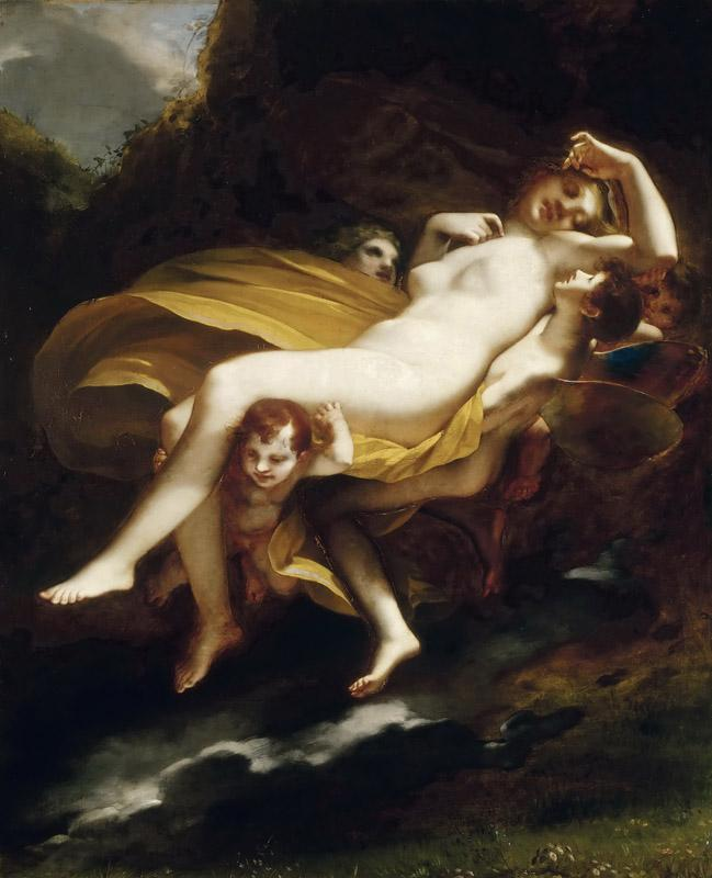 Pierre-Paul Prudhon -- Abduction of Psyche