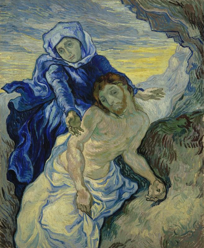 Pieta after Delacroix