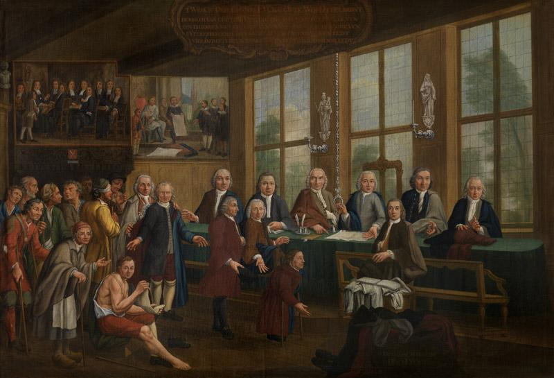 Pieter Beuckels - The oath of tailors