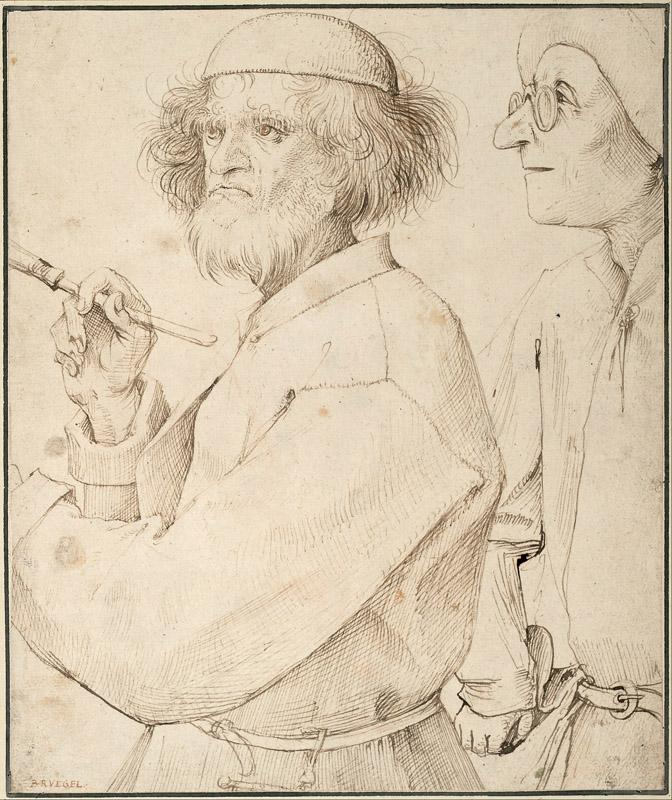 Pieter Brueghel the Elder (1526-1530-1569)-The Painter and the B