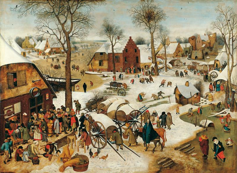 Pieter Brueghel the Younger - The Numbering at Bethlehem