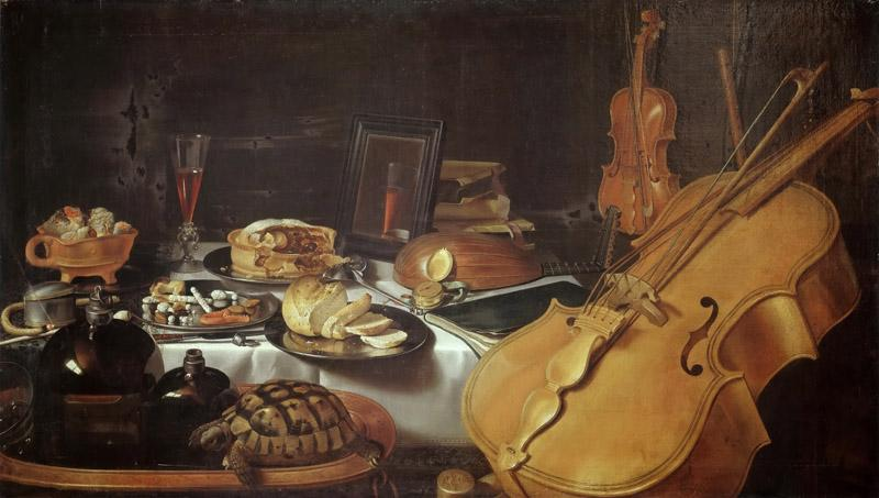 Pieter Claesz. -- Still Life with Musical Instruments