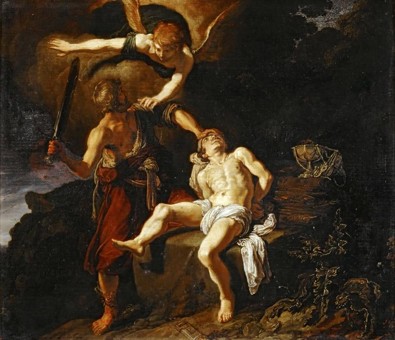 Pieter Lastman (1583-1633) -- Sacrifice of Isaac