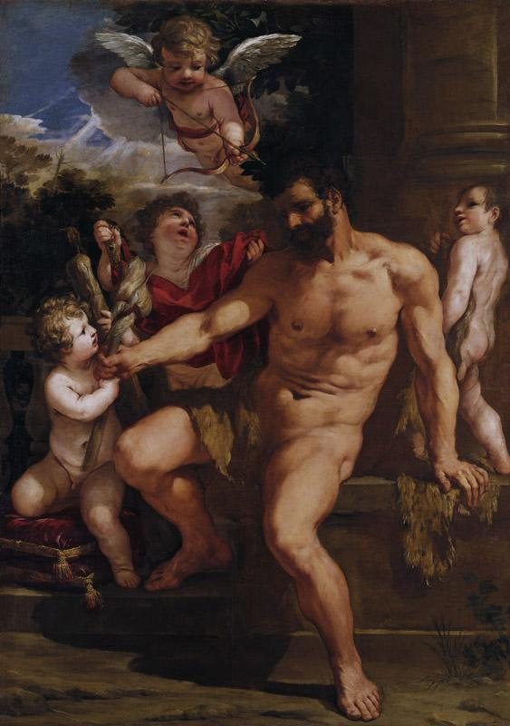 Pietro Berettini da Cortona - The Punishment of Hercules, 1635
