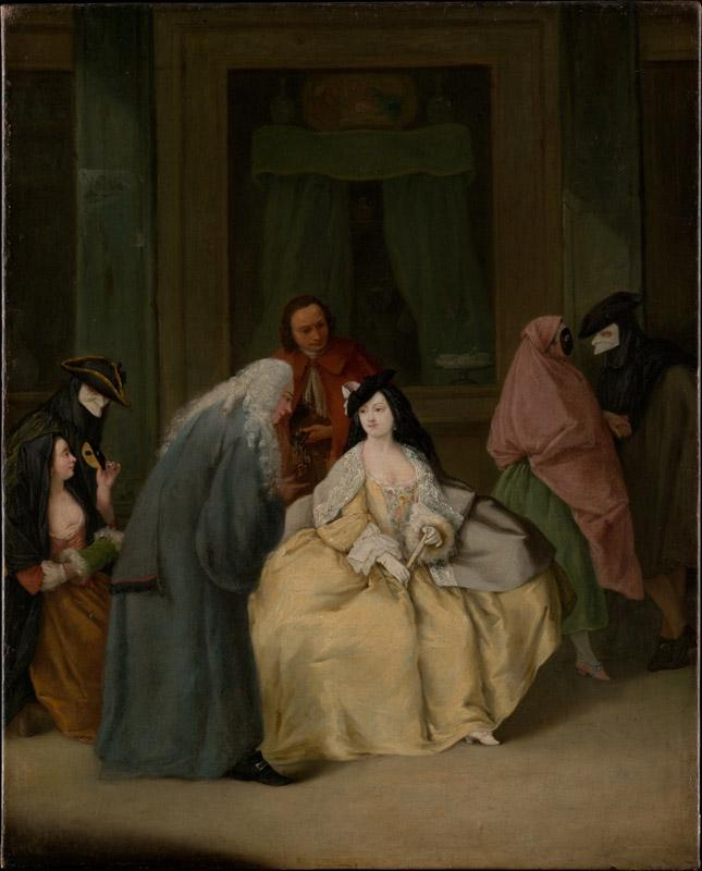 Pietro Longhi--The Meeting