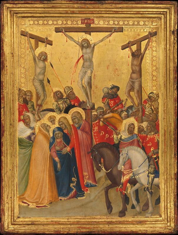 Pietro Lorenzetti--The Crucifixion