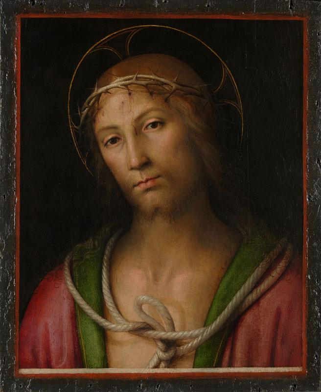 Pietro Perugino - Christ Crowned with Thorns