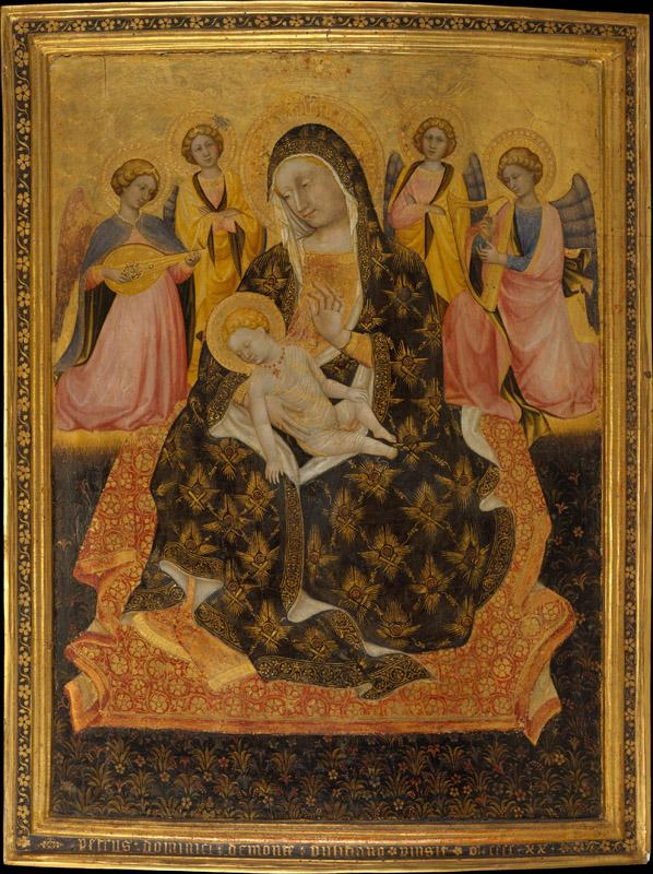Pietro di Domenico da Montepulciano--Madonna and Child with Angels