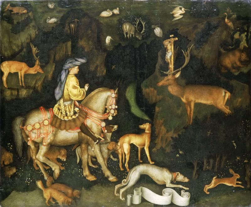 Pisanello 1395-1455 -- The Vision of St
