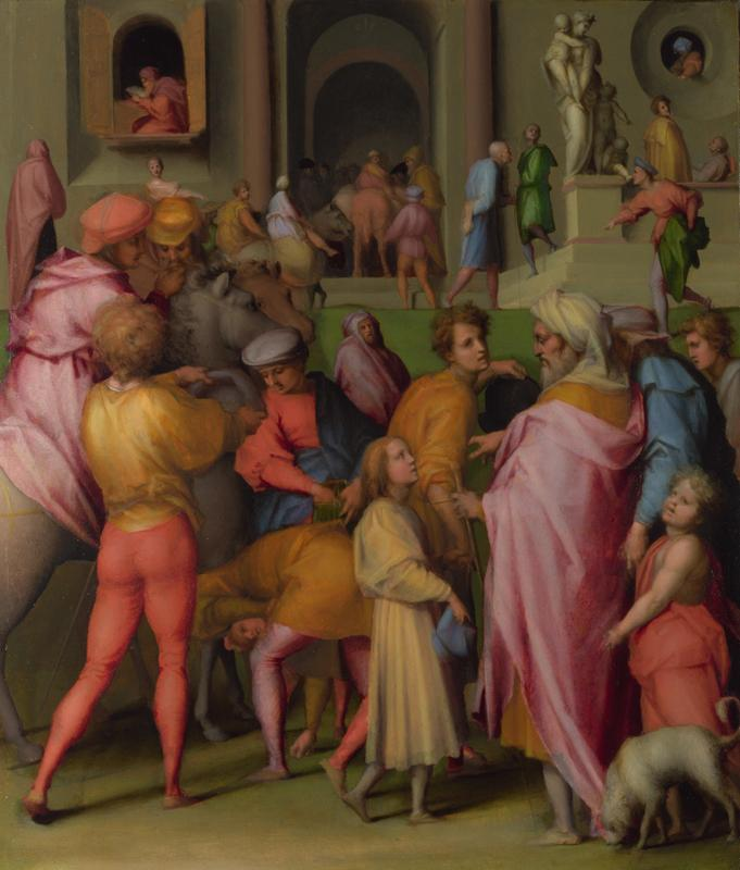Pontormo - Joseph sold to Potiphar