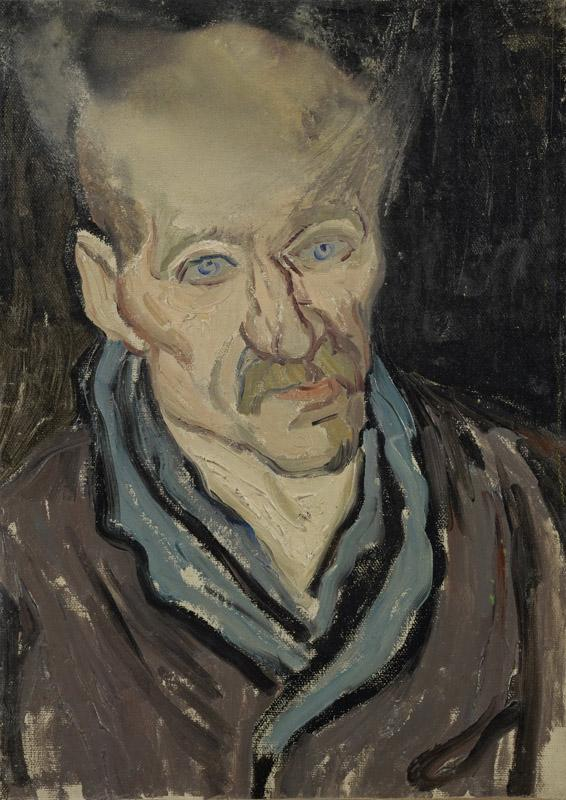 Portrait of a Patient in Saint-Paul Hospital