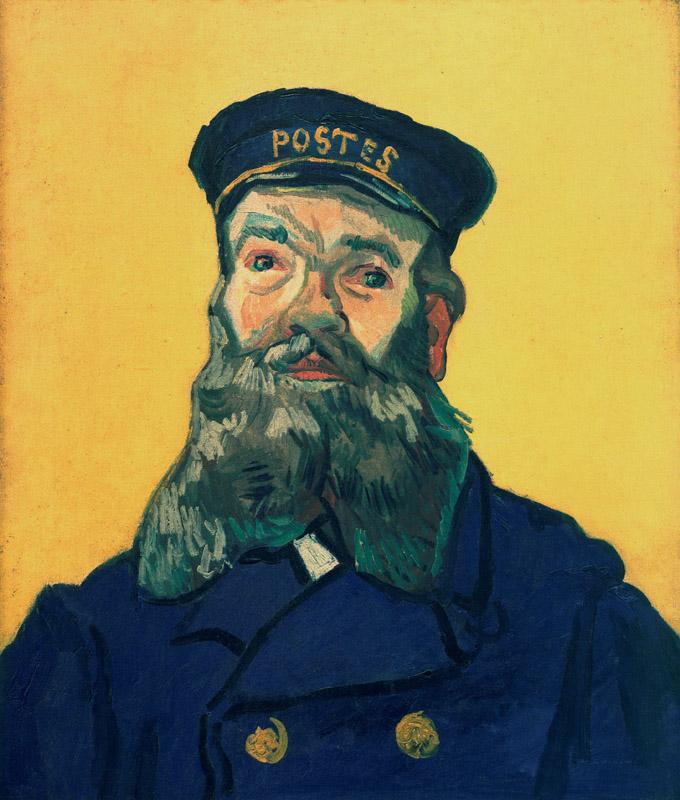 Portrait of the Postman Joseph Roulin6