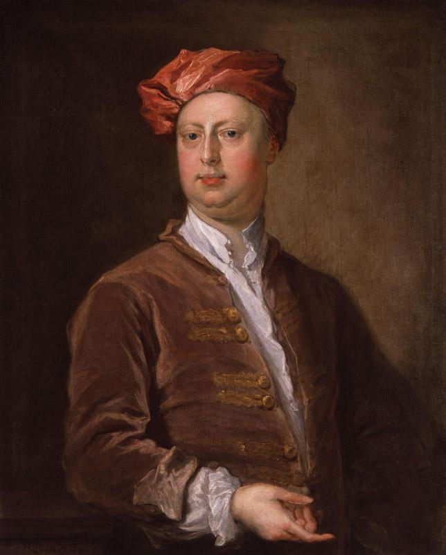 Probably William Kent by Bartholomew Dandridge