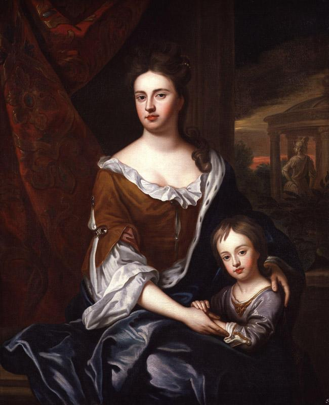 Queen Anne William, Duke of Gloucester by Sir Godfrey Kneller, Bt