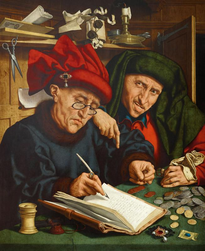 Quentin Massys - The Tax Collectors, End of 1st quarter of 16th C