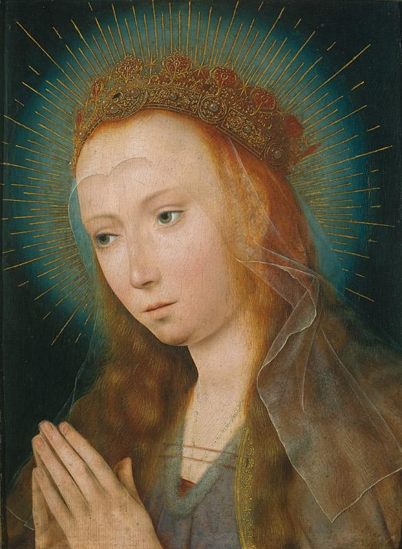 Quentin Massys - The Virgin at Prayer, c. 1505
